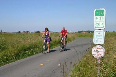 Vacances vélo dans le plat pays