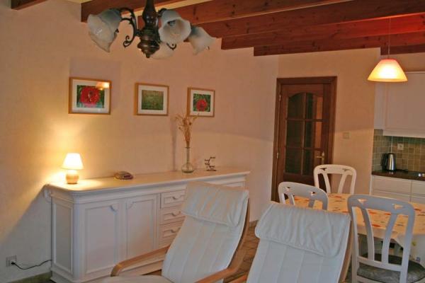 Gîte de vacances le Coquelicot pour 1 à 4 personnes avec 2 chambres à coucher