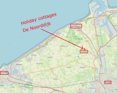 Between Bruges and the Belgian coast